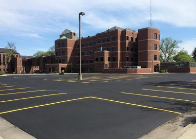 Cass County Court House Parking Lot