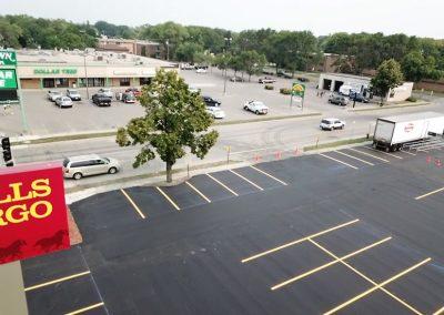 Moorhead Hornbachers Parking Lot