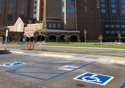 Sanford Parking Lot